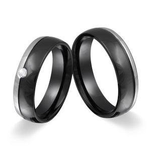 Zwei Verlobungsringe Eheringe Hochzeitsringe Mit gratis WUNSCHGRAVUR 217HD
