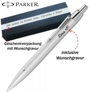 Parker IM Kugelschreiber Farbe Silber