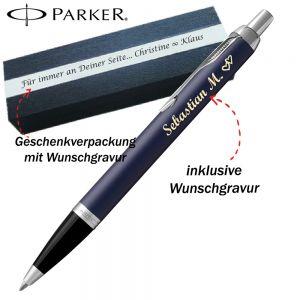 PARKER IM CORE Matte Blue C.C. Kugelschreiber